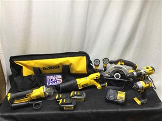 DEWALT 7 PIECE TOOL SET